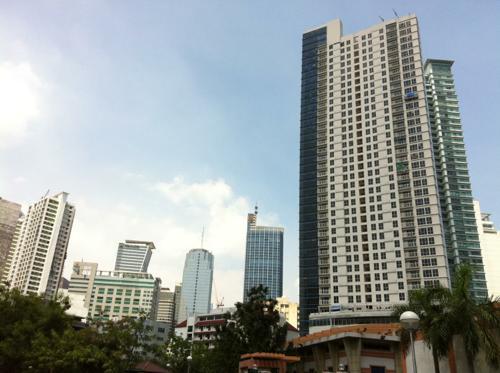 マカティの高層ビル
