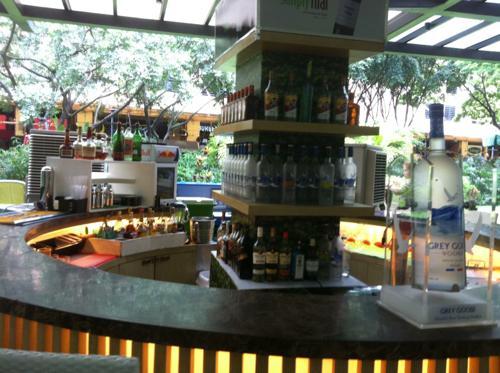 グリーンベルトのカフェ
