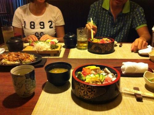 マニラの和食レストラン