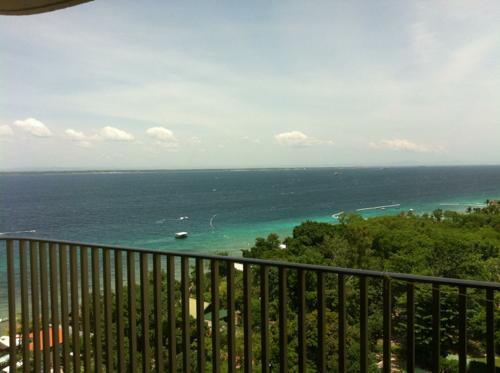 モーベンピックホテルから眺める海