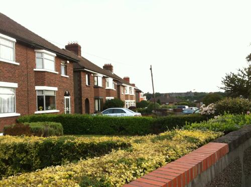 アイルランドの住宅