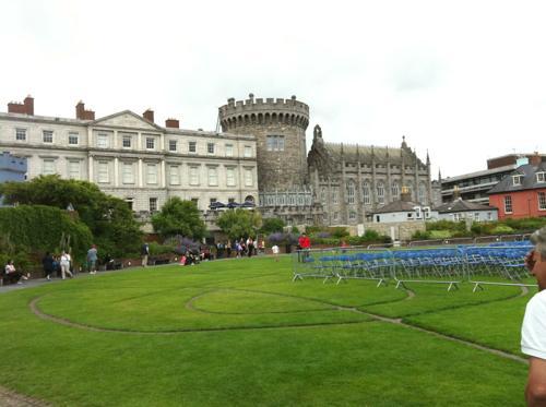 ダブリン城の外観