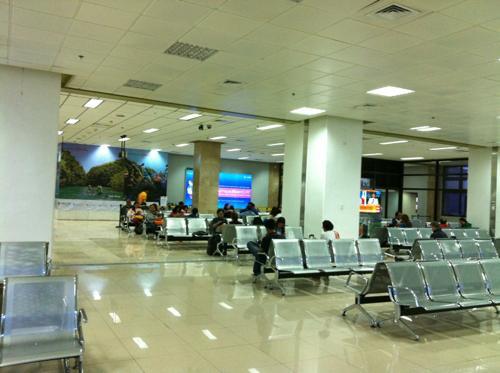 ニノイ・アキノ国際空港のロビー