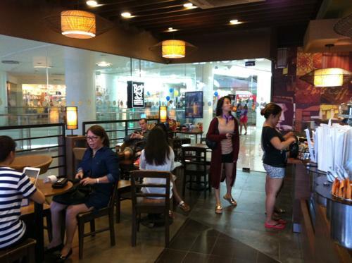 クアラルンプールのカフェ