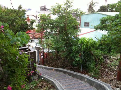 台湾の階段