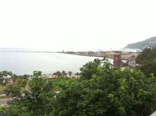 台湾の海と緑