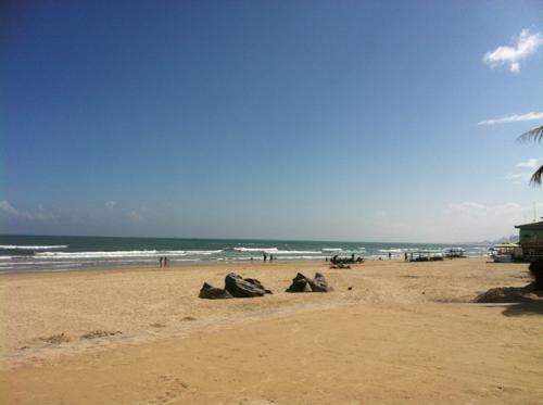 ミーケービーチの砂浜