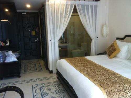 ロンドンのホテル室内