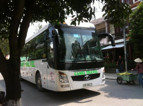 フエ行きのバス