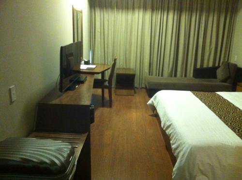 バンコクのホテルの室内