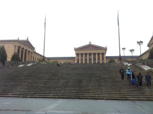 フィラデルフィア美術館の外観