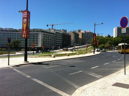リスボンの交差点
