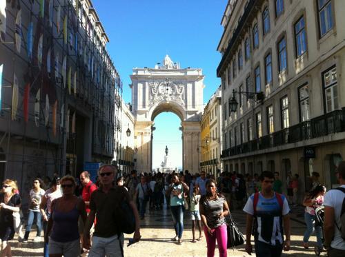 リスボンのコメルシオ広場