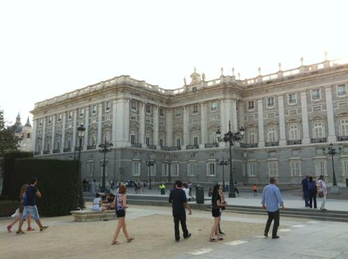 マドリッドの王宮