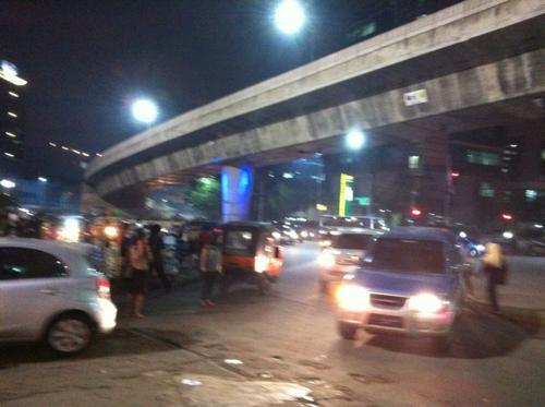 ジャカルタの交通