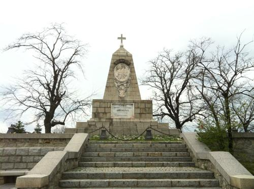 プロブディフの丘の上の彫刻