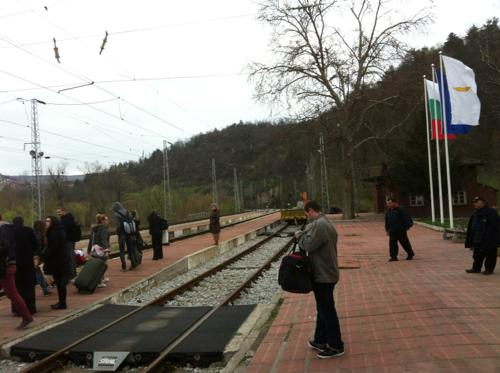 ブルガリアの駅