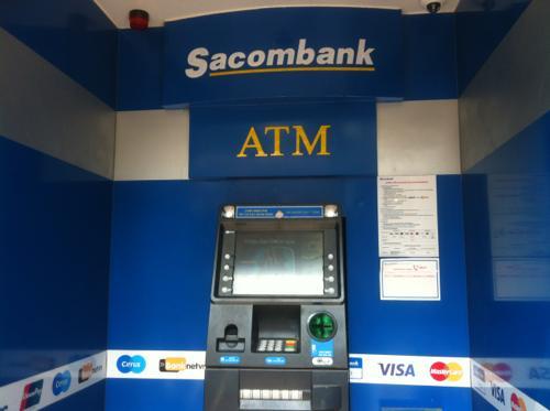 SacombankのATM