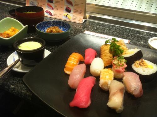 タニヤの築地寿司