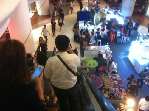 シンガポールのショッピングモール