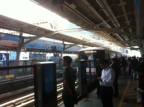 BTS・ASOK駅