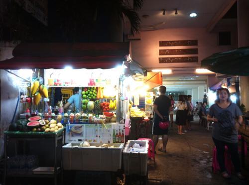 フィリピンのナイトマーケット