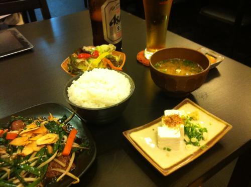 タイでの和食