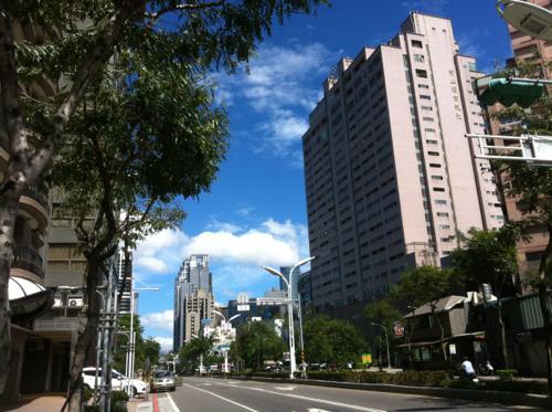 台北の高層ビル