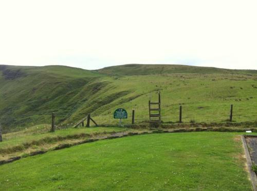 北アイルランドの丘陵