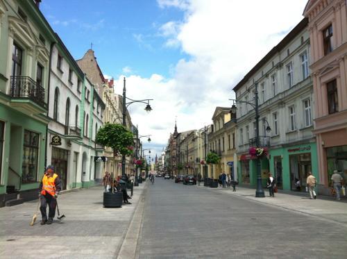 ウッチのPiotrkowska Street