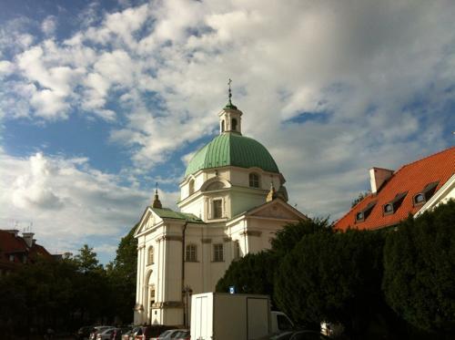 ワルシャワの教会