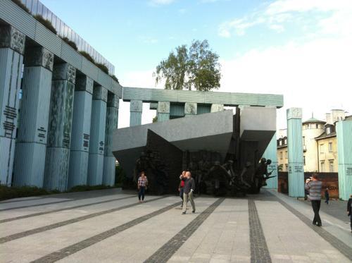 ワルシャワの建物