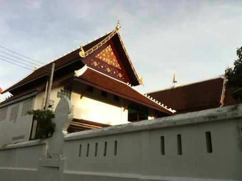チェンマイのお寺