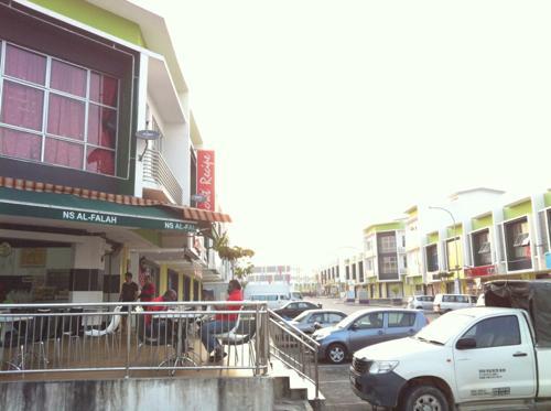隣国マレーシアの街並み