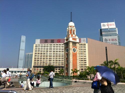 旧九広鉄路鐘楼