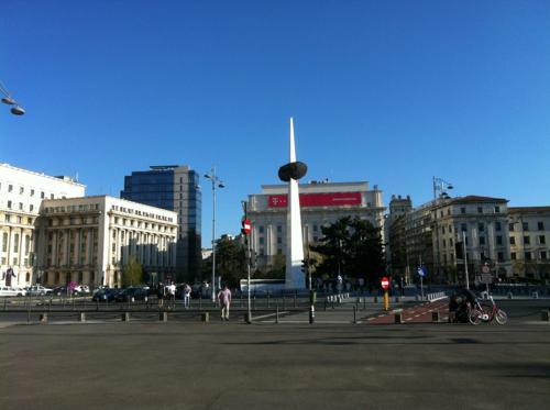 ブカレストの広場