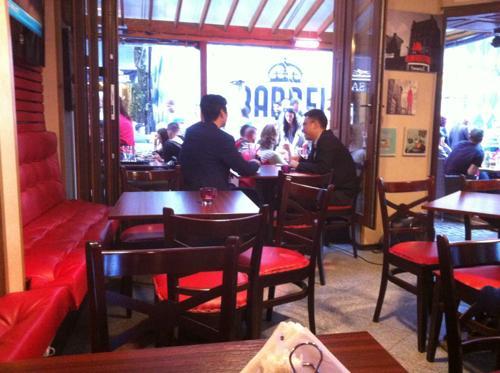 ブラショフのレストラン