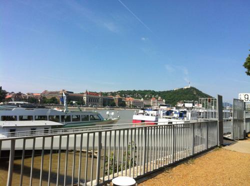 ブダペストのドナウ川