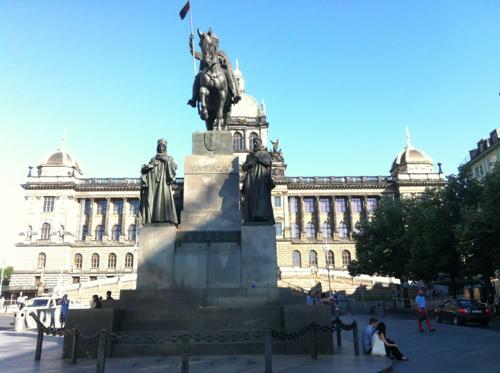 プラハのヴァーツラフ広場
