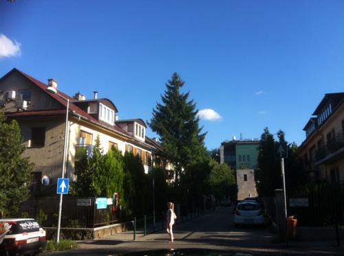 ハンガリーの住宅街