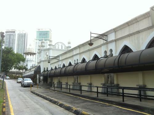 マレーシアの町並み