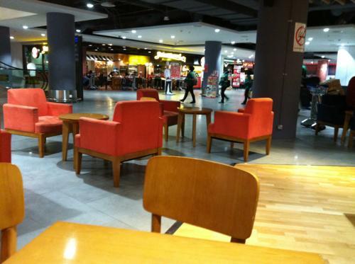 クアラルンプール国際空港のレストラン
